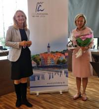 OB Doris Baumgartl und Ursula Schaller
